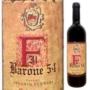 【送料無料】イル バローネ 54 1954 アントニオ フェッラーリ 750ml [赤]Il Barone 54 Solaria N.5 Antonio Ferrari