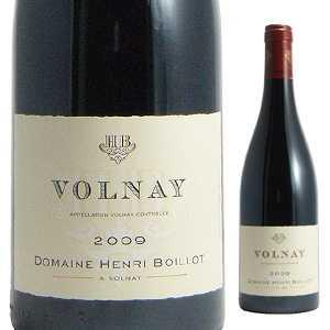 【6本~送料無料】ヴォルネイ 2013 ドメーヌ アンリ ボワイヨ 750ml [赤]Volnay Domaine Henri Boillot [ヴォルネー]