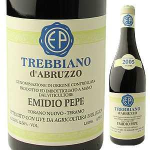 【送料無料】トレッビアーノ ダブルッツォ 2010 エミディオ ペペ 750ml [白]Trebbiano d'Abruzzo Emidio Pepe