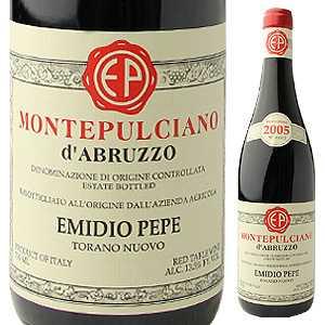 【送料無料】モンテプルチアーノ ダブルッツォ 2007 エミディオ ペペ 750ml [赤]Montepulciano d'Abruzzo Emidio Pepe