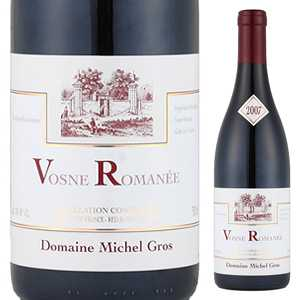 【6本~送料無料】ヴォーヌ ロマネ プルミエ クリュ オー ブリュレ 2012 ドメーヌ ミッシェル グロ 750ml [赤]Vosne-Romanee 1er Cru Aux Brulees Domaine Michel Gros