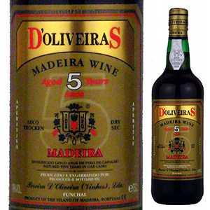 6本~送料無料 9月25日 土 以降発送予定 マデイラ 与え 5年 ドライ NV ペレイラ ドリヴェイラ D'oliveira Dry Madeira マデイラワイン 新作アイテム毎日更新 Year 5 750ml Old Pereira