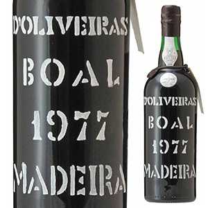 【送料無料】マデイラ ブアル 1977 ペレイラ ドリヴェイラ 750ml [マデイラワイン]Madeira Boal 1977 Pereira D'oliveira