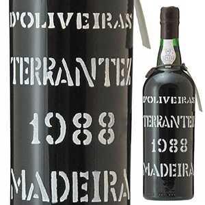 【送料無料】[7月31日(金)以降発送予定]マデイラ テランテス 1988 ペレイラ ドリヴェイラ 750ml [マデイラワイン]Madeira Terrantez Pereira D'oliveira