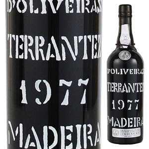 【送料無料】[1月17日(金)以降発送予定]マデイラ テランテス 1977 ペレイラ ドリヴェイラ 750ml [マデイラワイン]Madeira Terrantez Pereira D'Oliveira