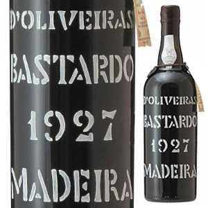 【送料無料】マデイラ バスタルド 1927 ペレイラ ドリヴェイラ 750ml [マデイラワイン]Madeira Bastardo Pereira D'Oliveira