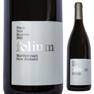 【6本~送料無料】ピノ ノワール リザーヴ 2014 フォリウム ヴィンヤード 750ml [赤]Pinot Noir Reserve Folium Vineyard [ビオロジック]
