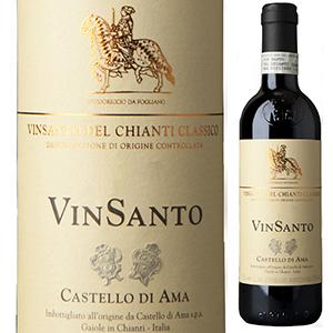 【6本~送料無料】 [375ml]ヴィンサント デル キャンティ クラシコ 2013 カステッロ ディ アマ [ハーフボトル][甘口白]Vin Santo Del Chianti Classico Castello Di Ama [クラッシコ]