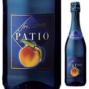 ピーチの香りタップリのさわやかな甘口スパークリングワイン!低アルコール4%の心地よい飲み心地「ぺスカ」 パティオ フリッツァンテ ペスカ NV ドネリ 750ml [甘口発泡フレーバードワイン]Patio Frizzante Pesca Donelli - awaretic.com