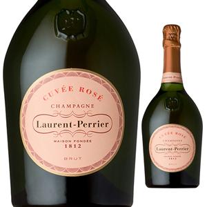 【6本~送料無料】[ギフトボックス入り]シャンパーニュ ロゼ NV ローラン ペリエ 750ml [発泡ロゼ]Champagne Rose Laurent-Perrier