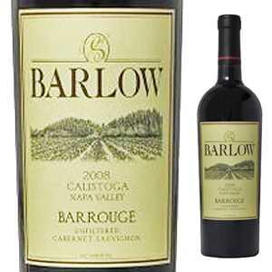 【6本~送料無料】バールージュ ナパ ヴァレー 2013 バーロウ ヴィンヤーズ 750ml [赤]Barrouge Napa Valley Barlow Vineyards
