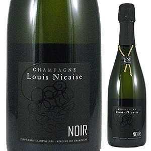 【6本~送料無料】ブラン ド ノワール ノワール ブリュット プルミエ クリュ NV ルイ ニケーズ 750ml [発泡白]Blanc De Noirs Noir Brut 1er Cru Louis Nicaise