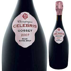 【送料無料】セレブリス エクストラ ブリュット ロゼ 2007 ゴッセ 750ml [発泡ロゼ]Celebris Extra Brut Rose Gosset