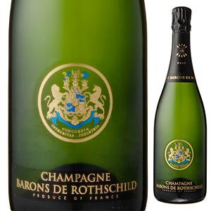 【6本~送料無料】バロン ド ロスチャイルド ブリュット NV シャンパーニュ バロン ド ロートシルト 1500ml [発泡白] [マグナム・大容量]Barons De Rothschild Brut Nc Champagne Barons De Rothschild