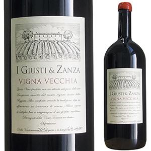 【6本~送料無料】ヴィーニャ ヴェッキア トスカーナ ロッソ 2012 イ ジュスティ エ ザンツァ 1500ml [赤] [マグナム・大容量]Vigna Vecchia Toscano Rosso I Giusti & Zanza