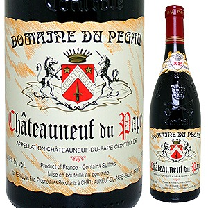 【6本~送料無料】シャトーヌフ デュ パプ ルージュ キュヴェ レゼルヴ 2015 ドメーヌ デュ ペゴー 750ml [赤]Chateauneuf Du Pape Rouge Cuv e Reserve Domeine Du Pegau