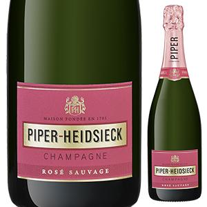 【6本~送料無料】ロゼ サクレ ソヴァージュ NV シャンパーニュ パイパー エドシック 750ml [発泡ロゼ]Rose Sacre Sauvage Champagne Piper-Heidsieck