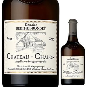 【6本~送料無料】シャトー シャロン 2010 ドメーヌ ベルテ ボンデ 620ml [白]Chateau Chalon Domaine Berthet Bondet