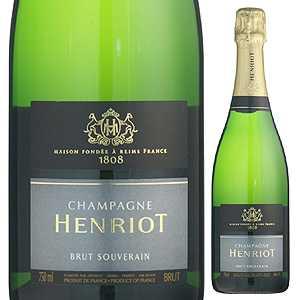 【6本~送料無料】ブリュット スーヴェラン NV シャンパーニュ アンリオ 1500ml [発泡白] [マグナム・大容量]Brut Souverain Champagne Henriot