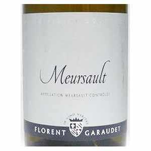 【6本~送料無料】ムルソー 2017 ドメーヌ フローラン ガローデ 750ml [白]Meursault Domaine Florent Garaudet