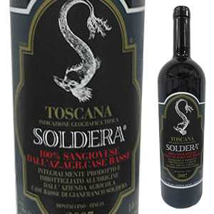 【送料無料】トスカーナ ソルデーラ 2008 カーゼ バッセ 750ml [赤]Toscana Soldera Case Basse(Gianfranco Soldera) [ジャンフランコ ソルデーラ]