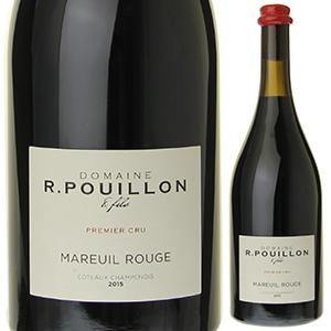 【6本~送料無料】マルイユ ルージュ ヴァン デ コトー シャンプノワ 2015 ロジェ プイヨン エ フィス 750ml [赤]Mareuil Rouge Vin Des Coteaux Champenois Vendange Roger Pouillon Et Fils