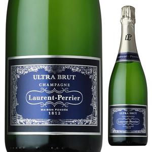 【6本~送料無料】[ギフトボックス入り]ウルトラ ブリュット NV ローラン ペリエ 750ml [発泡白]Ultra Brut Laurent-Perrier