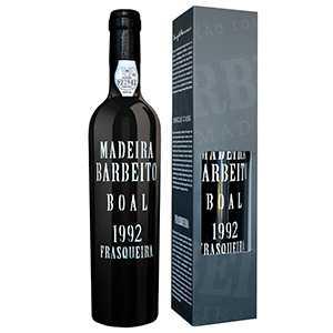【送料無料】マデイラ ブアル 1992 ヴィニョス バーベイト 500ml [マデイラワイン]Madeira Boal 1992 Vinhos Barbeito