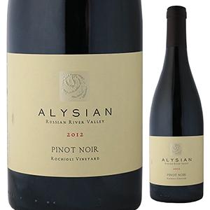 【6本~送料無料】ピノ ノワール ロキオリ ヴィンヤード 2012 アリシアン ワインズ 750ml [赤]Pinot Noir Rochioli Vineyard Alysian Wines