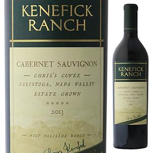 【6本~送料無料】カベルネ ソーヴィニヨン クリスズ キュヴェ 2013 ケネフィック ランチ 750ml [赤]Cabernet Sauvignon Chris's Cuvee Kenefick Ranch