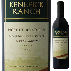 【6本~送料無料】ピケットロード ケネフィック レッド 2013 ケネフィック ランチ 750ml [赤]Pickett [赤]Pickett Road Road Red Kenefick Ranch, ファーストドア:890b948a --- gamenavi.club