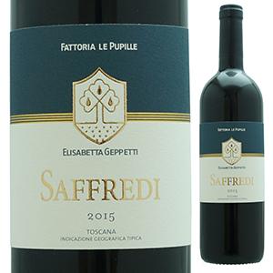 【6本~送料無料】サッフレディ 2015 ファットリア レ プピッレ 750ml [赤]Saffredi Fattoria Le Pupille