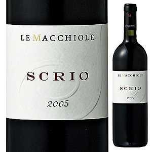 【送料無料】スクリオ 2005 レ マッキオーレ 750ml [赤]Scrio Azienda Agricola Le Macchiole