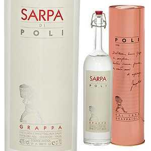 【6本~送料無料】グラッパ サルパ ディ ポーリ NV 700ml  [グラッパ]Grappa Sarpa Di Poli
