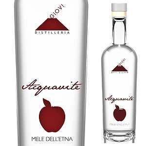 【6本~送料無料】アクアヴィーテ ディ メーレ デッレトナ NV ジョヴィ蒸留所 500ml [蒸留酒]Acquavite Di Mele Dell'etna Distilleria Giovi