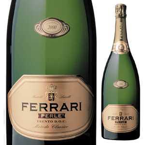 【6本~送料無料】ペルレ ミレジム 2009 フェッラーリ 1500ml [発泡白] [マグナム・大容量]Perle Millesime Ferrari