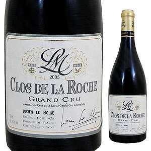 【送料無料】クロ ド ラ ロッシュ グラン クリュ 2013 ルシアン ル モワンヌ 750ml [赤]Clos De La Roche Grand Cru Lucien Le Moine