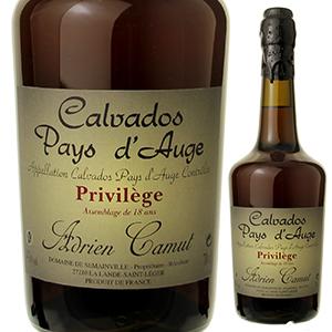 【送料無料】カルヴァドス プリヴィレージュ 15ー18年 NV アドリアン カミュ 700ml [ブランデー]Calvados Du Pays D'auge Privilege Adrien Camut