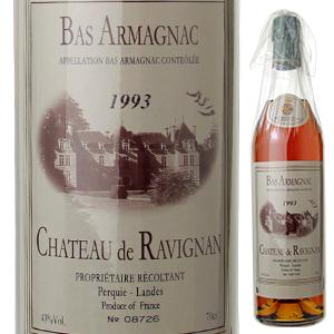 【6本~送料無料】バ アルマニャック シャトー ド ラヴィニャン 1993 ドメーヌ ド ラヴィニャン 700ml [アルマニャック]Bas Armagnac Chateau De Ravignan Domaine De Ravignan