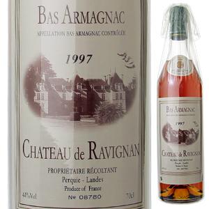 【6本~送料無料】バ アルマニャック シャトー ド ラヴィニャン 1997 ドメーヌ ド ラヴィニャン 700ml [アルマニャック]Bas Armagnac Chateau De Ravignan Domaine De Ravignan