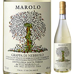 【6本~送料無料】グラッパ ディ ネッビオーロ NV マローロ 700ml  [グラッパ]Grappa Di Barbera Marolo