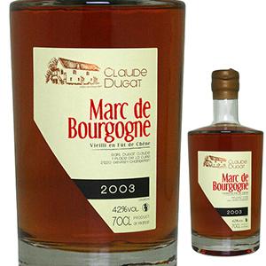 【送料無料】マール ド ブルゴーニュ 2003 クロード デュガ 700ml [ブランデー]Marc de Bourgogne Claude Dugat