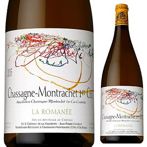 【送料無料】シャサーニュ モンラッシェ プルミエ クリュ ラ ロマネ 2018 シャトー ド ラ マルトロワ 1500ml [白] [マグナム・大容量]Chassagne-Montrachet 1er Cru La Romanee Chateau De La Maltroye
