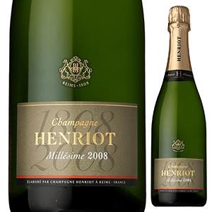 【6本~送料無料】ブリュット ミレジメ 2008 シャンパーニュ アンリオ 750ml [発泡白]Brut Millesime Champagne Henriot