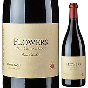 【6本~送料無料】キャンプ ミーティング リッジ ピノ ノワール 2014 フラワーズ 750ml [赤]Camp Meeting Ridge Pinot Noir Flowers