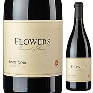 【6本~送料無料】ソノマ コースト ピノ ノワール 2017 フラワーズ 750ml [赤]Sonoma Coast Pinot Noir Flowers
