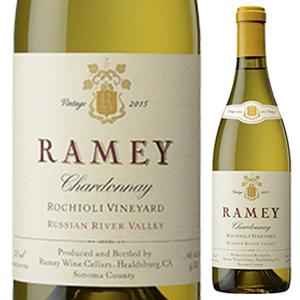 【6本~送料無料】ロキオリ ヴィンヤード シャルドネ 2015 レイミー 750ml [白]Rochioli Vineyard Chardonnay Ramey