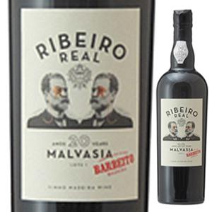 【送料無料】マデイラ リベイロ レアル マルヴァジア 20年 NV ヴィニョス バーベイト 750ml [甘口マデイラ]Ribeiro Real Malvasia 20 Year Old Vinhos Barbeito [マルヴァジーア]