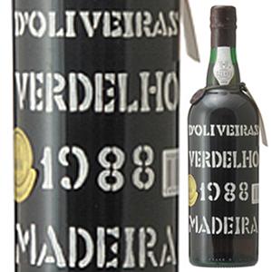 【6本~送料無料】マデイラ ヴェルデーリョ 1988 ペレイラ ドリヴェイラ 750ml [マデイラ]Madeira Verdelho Pereira D'oliveira