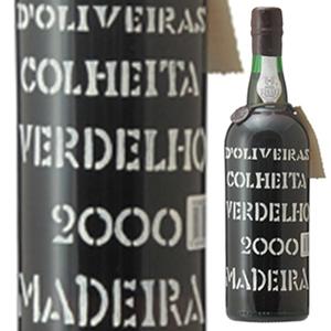【6本~送料無料】[8月21日(金)以降発送予定]マデイラ ヴェルデーリョ 2000 ペレイラ ドリヴェイラ 750ml [マデイラ]Madeira Verdelho Pereira D'oliveira
